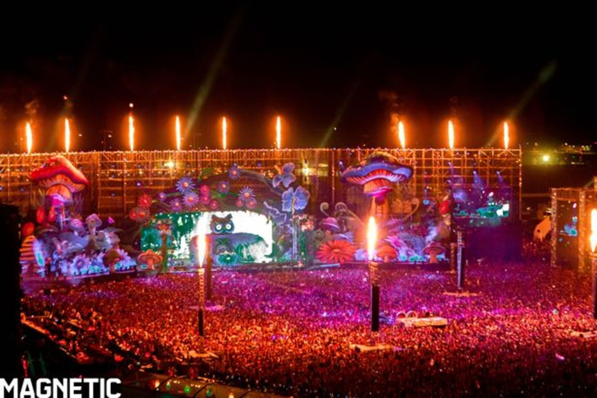 EDM News: First Look Photos Of Insomniac's Electric Daisy Carnival Las Vegas