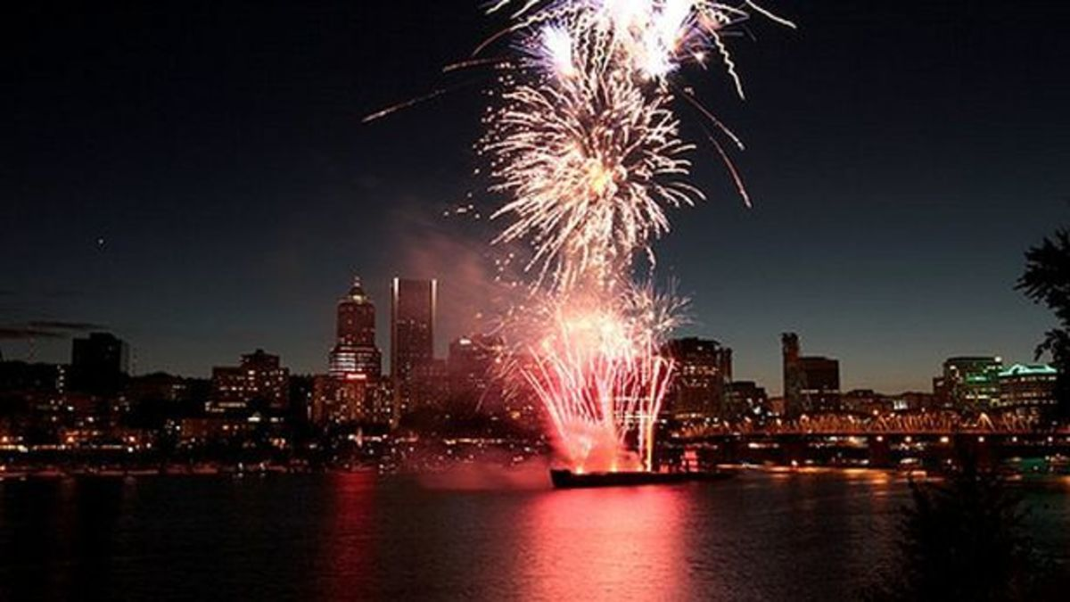 EDM Events: Portland 4th Of July Events