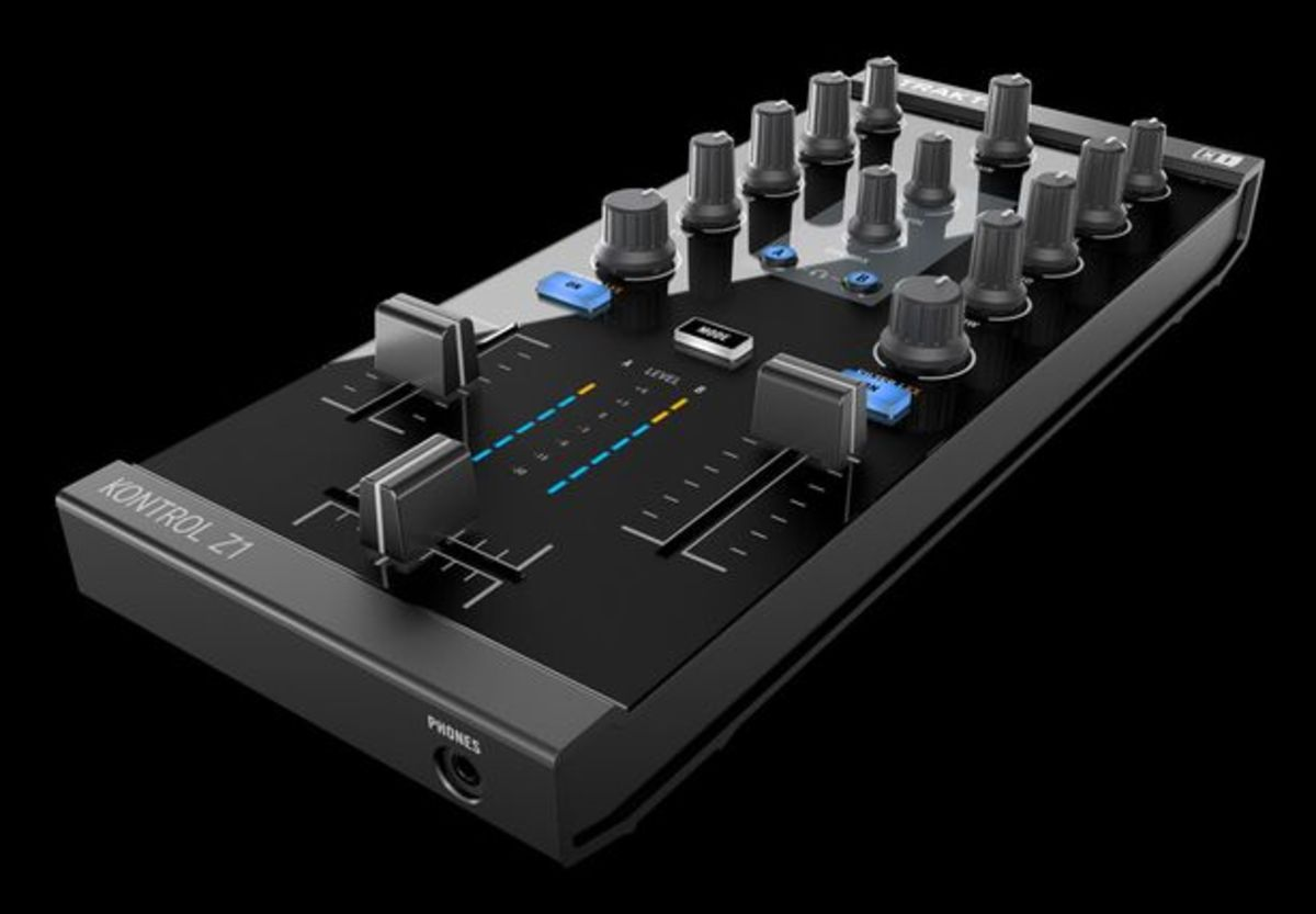 EDM Gear: Kontrol Z1 2 Channel USB Mixer By Native Instruments; Solid Features, Quality And Value