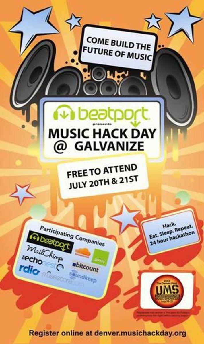 EDM News: Beatport Presents Denver Music Hack Day July 20 & 21