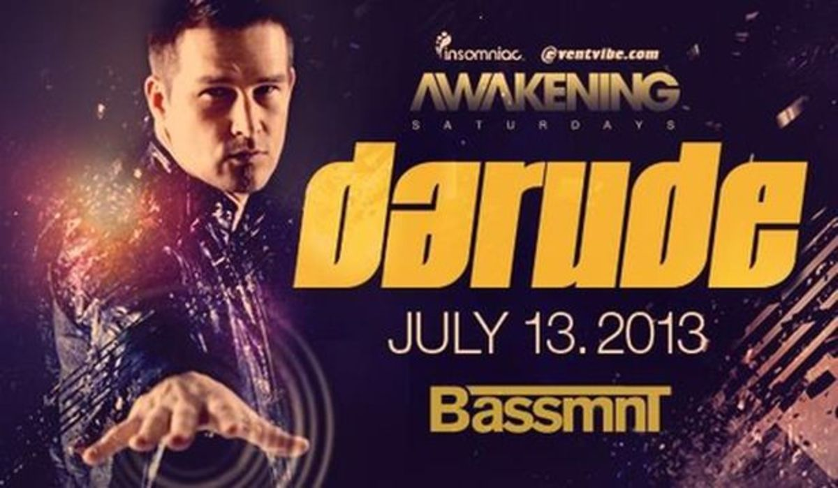 EDM Events - DARUDE Brings a Sandstorm to San Diego, Project 46 Gets Fluxx'd, Sunday Funday with Sultan & Ned Shepard at Intervention