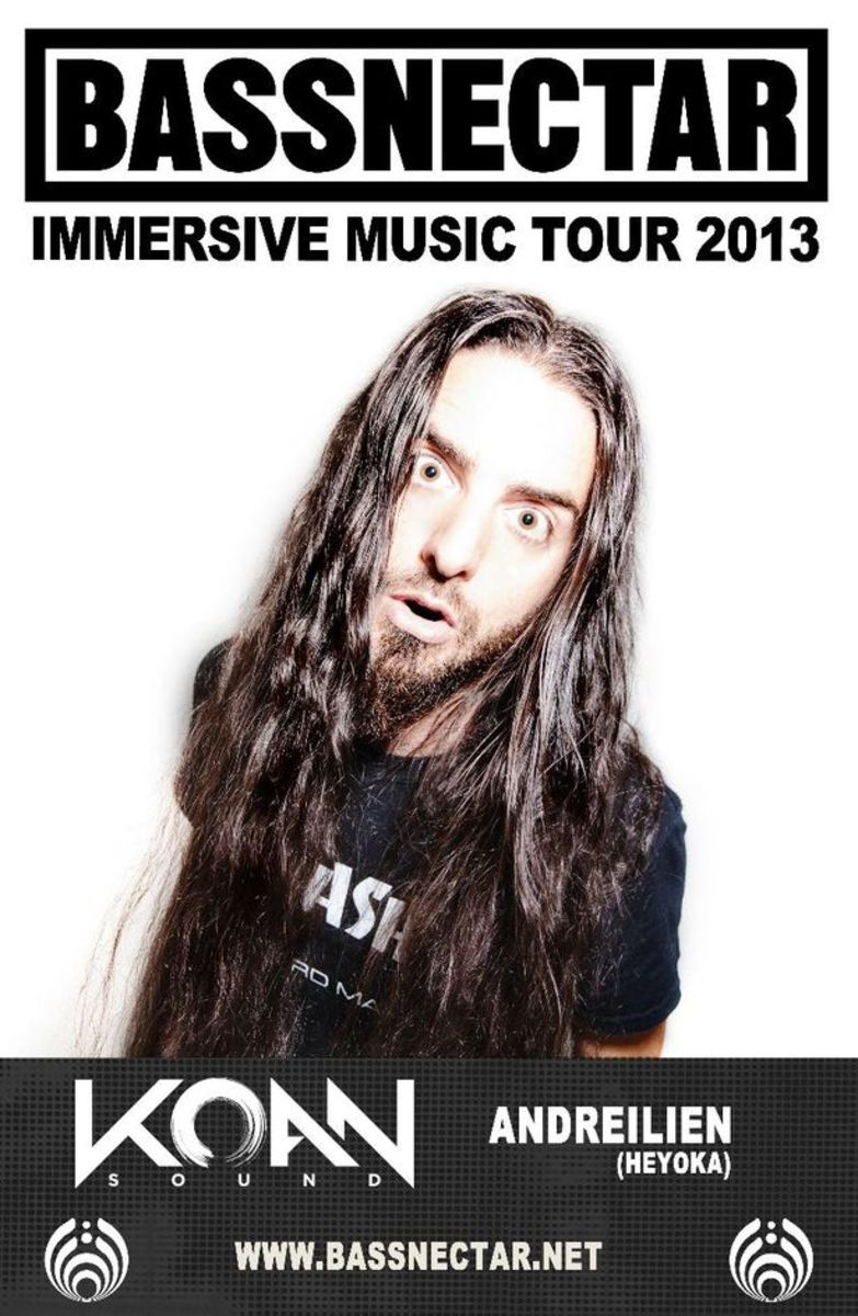 "EDM News: Bassnectar ""Immersive"" U.S. Tour Dates Announced"