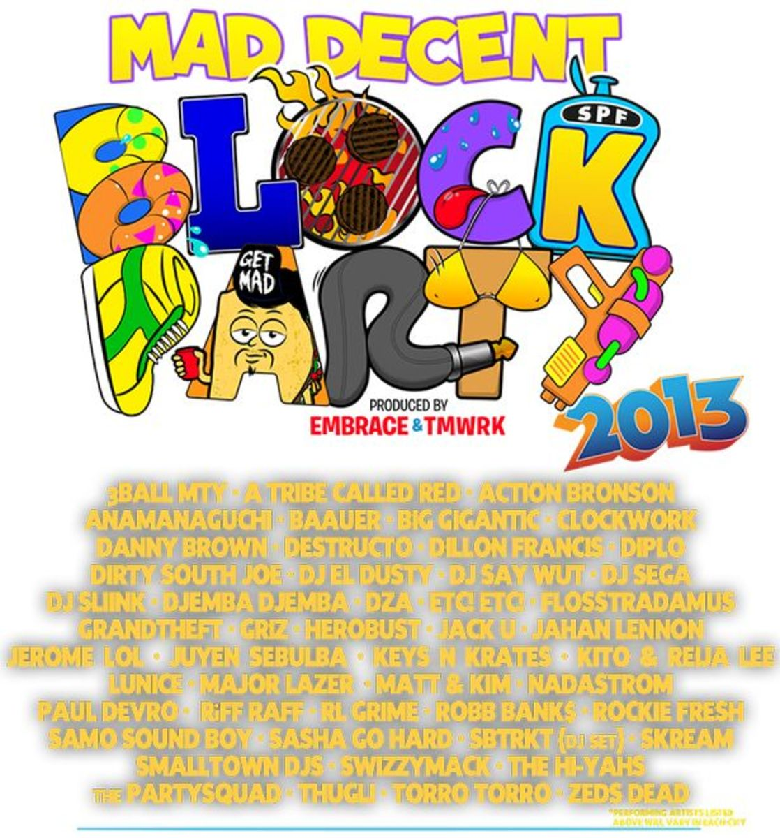 EDM Events: Mad Decent Block Party Kicks Off Today; Dates Nationwide Through September