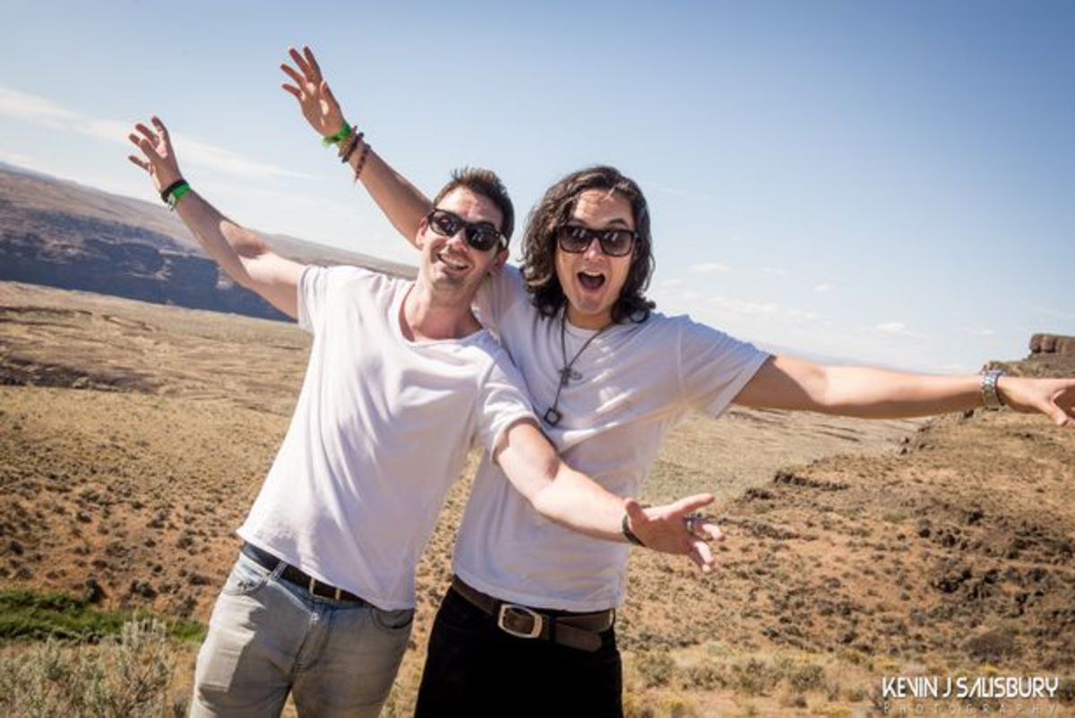 EDM Interview: Magnetic Chats With Feenixpawl On A Cliff Above The Columbia River
