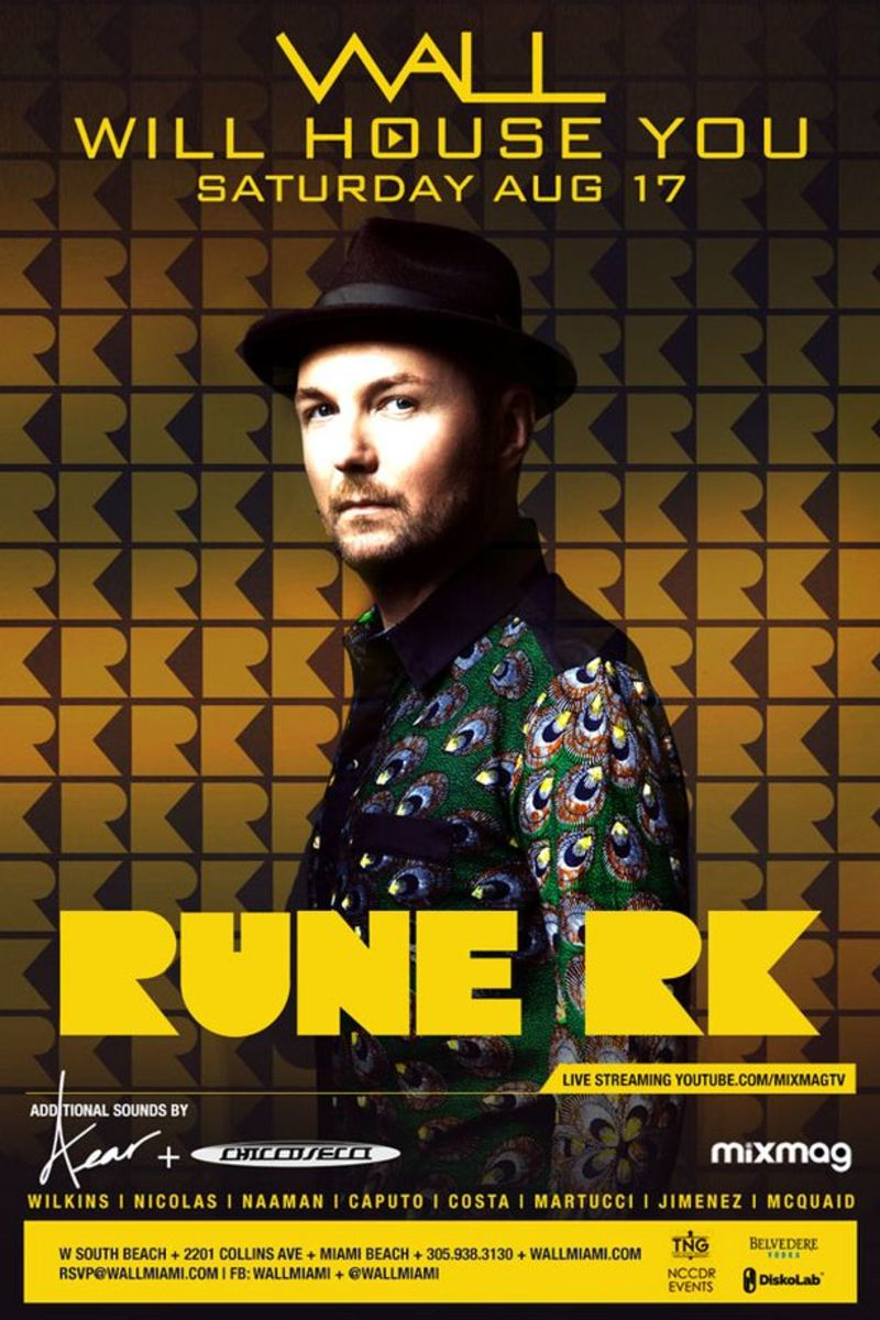 EDM News: Stream Rune RK's Set From Wall Night Club Here