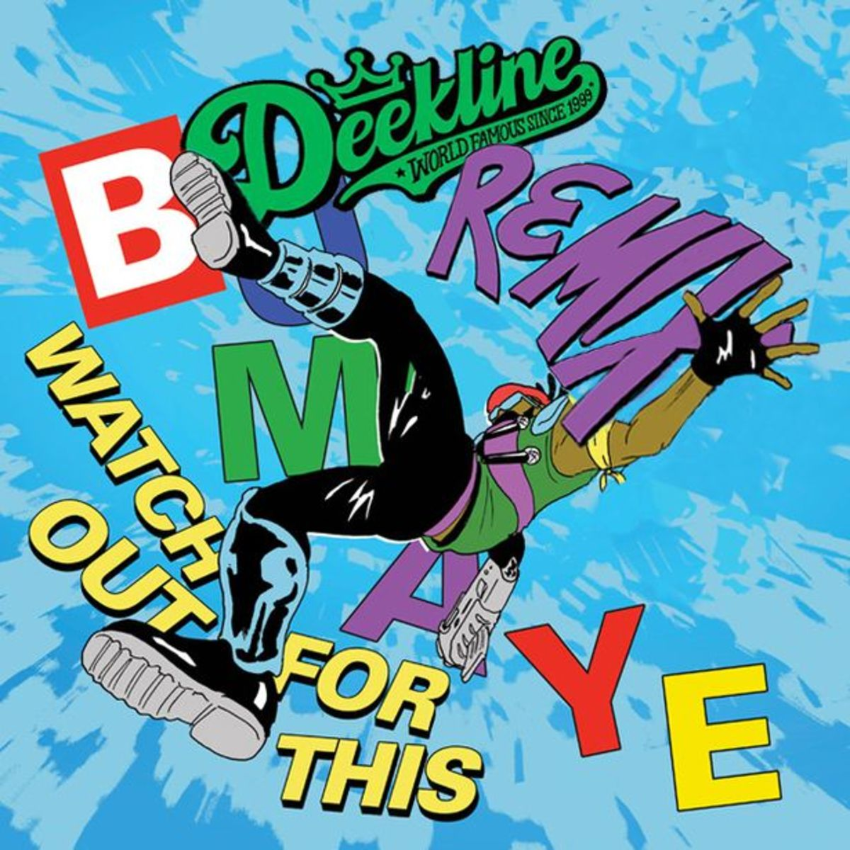 EDM Download: Major Lazer 'Watch Out For This' (Deekline Remix); File Under 'Electro-House'
