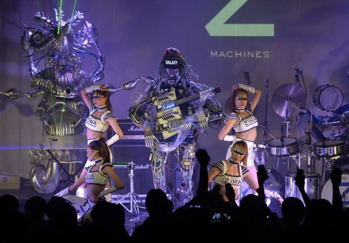 EDM Culture: Z-Machines Under The Direction Of Squarepusher- Watch A Real Robot Band Make Music