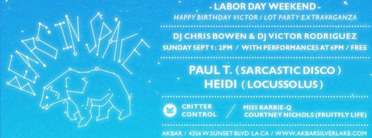 EDM Culture - Labor Day Weekend Events In Los Angeles With Moderat, Terry Francis, T.E.E.D, Mark Farina & More