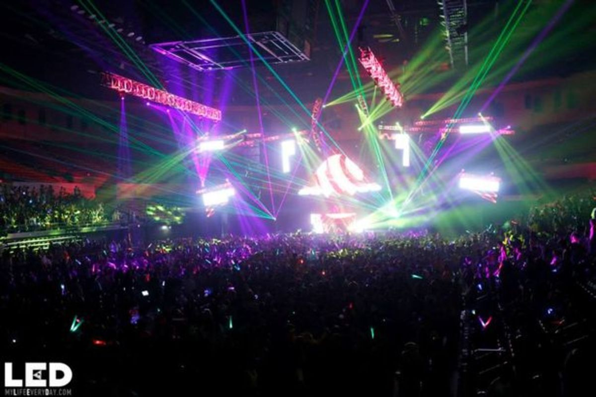 EDM Culture: Event Recap- LED Presents Tramps Like Us At Valley View Casino Center, San Diego