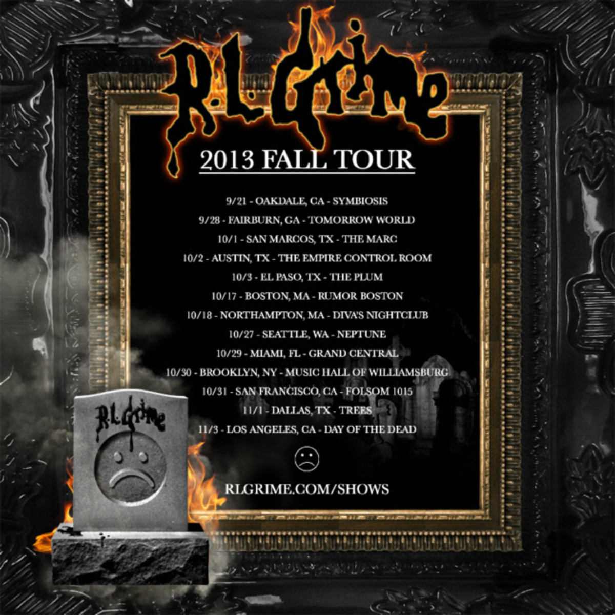 EDM News: RL Grime Announces Fall 2013 US Tour