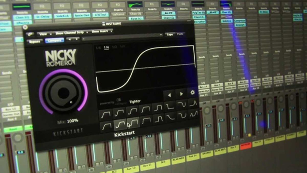 EDM Gear: Nicky Romero Launches Kickstart Plugin