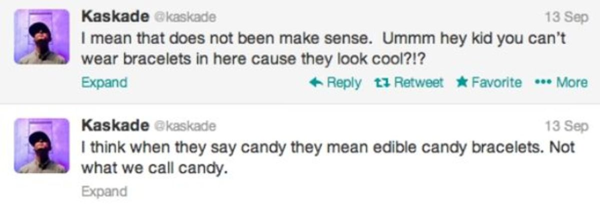 "EDM Culture: Kaskade Takes A Stand Against ""Banned Kandi"" During Show"