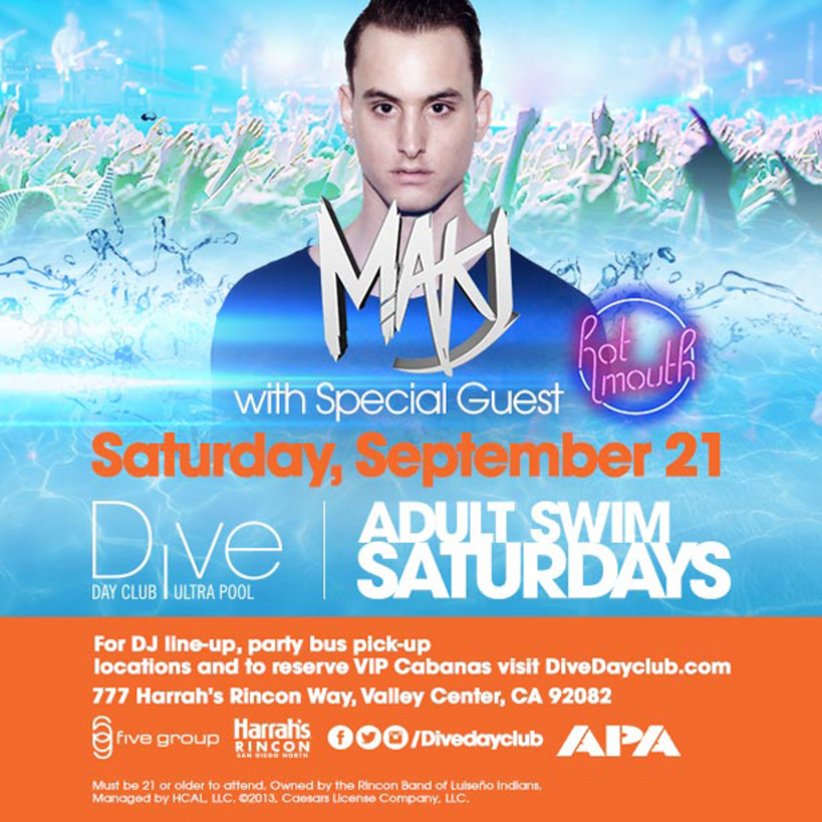 EDM Culture - San Diego Events This Weekend With MAKJ, Hot Mouth, AutoErotique, and the Grande Finale of Intervention!