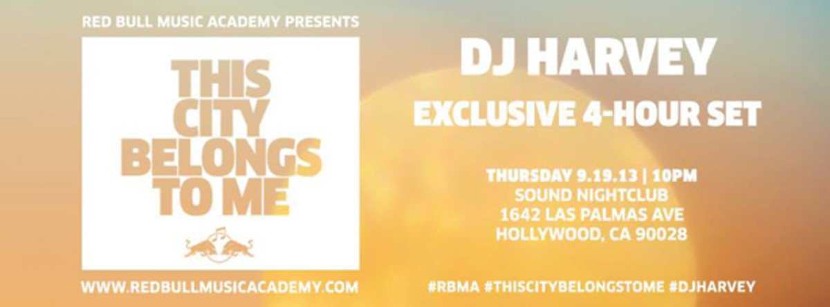 EDM Culture: Los Angeles This Week With DJ Harvey, Tornado Wallace, Golden Touch, Jimmy Edgar, Kauf And More