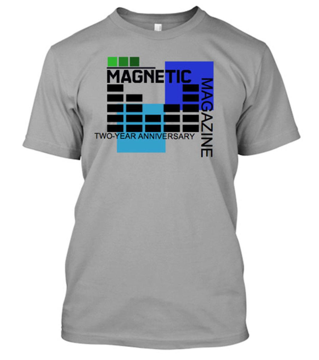 Shirt design contest - Edm News Magnetic T Shirt Design Contest Featured Design