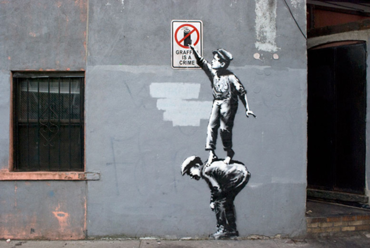"EDM Culture: ""Better Out Than In""- Banksy's Residency On The Streets Of New York"