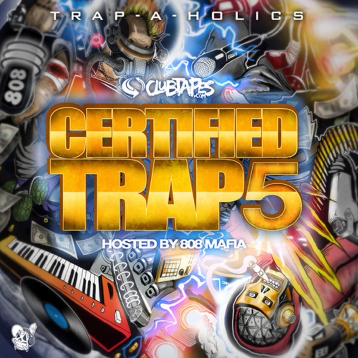 EDM Download: Certified Trap 5 Merges The New Electronic Music And Hip Hop scenes