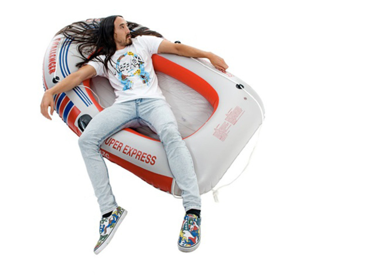 EDM Culture: 10 Of Our Favorite Looks For The 2013 Steve Aoki X Neff Campaign