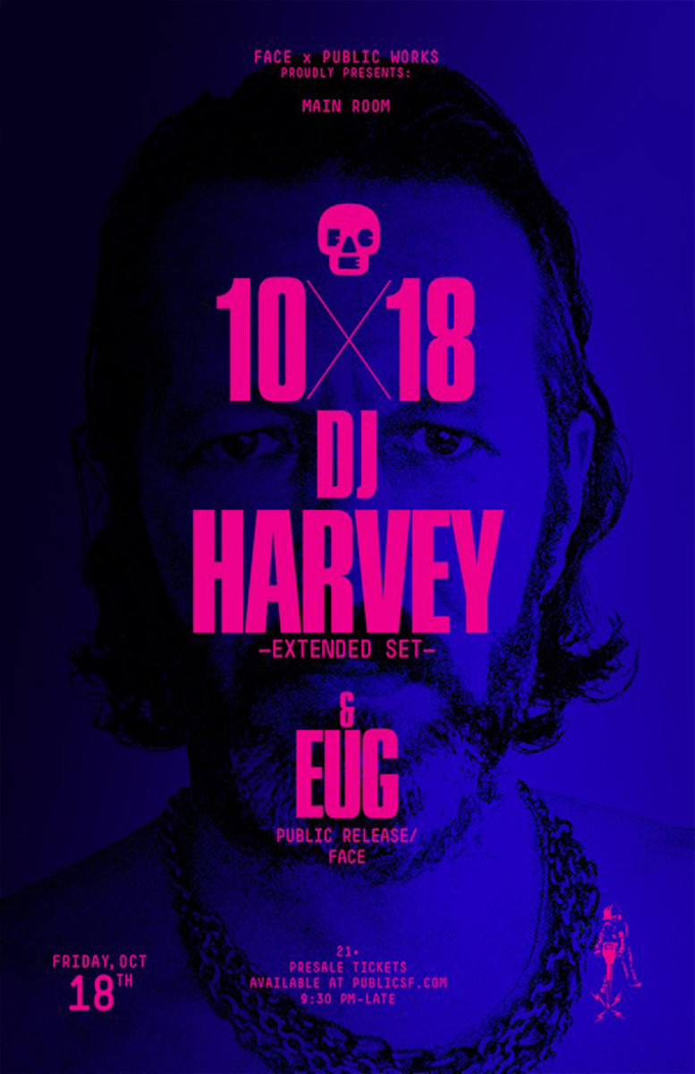 EDM News: DJ Harvey On Bathrooms, His Influences & Shazam; Playing Public Works In SF 10/18