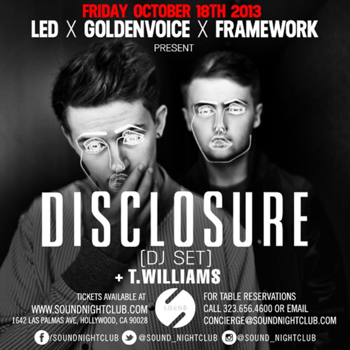 EDM Culture: Megan Sutherland's LA Event Picks This Week With Disclosure, Sebastian Posso, Cosmic Dan, Switch, Sleazemore & More