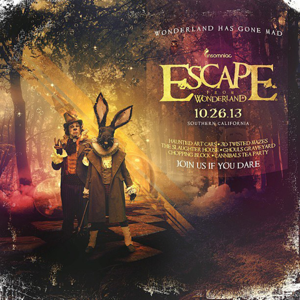 EDM News: Magnetic's Guide to Escape From Wonderland 2013