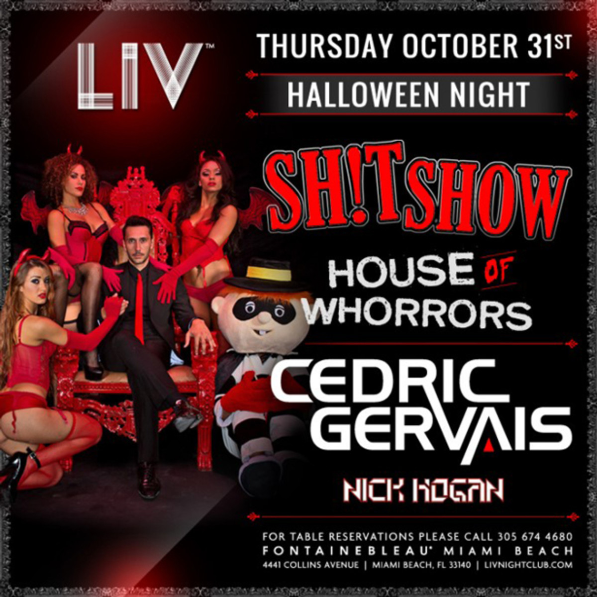 EDM News: View The Cedric Gervais SH!TSHOW- Halloween Edition Audition Tapes
