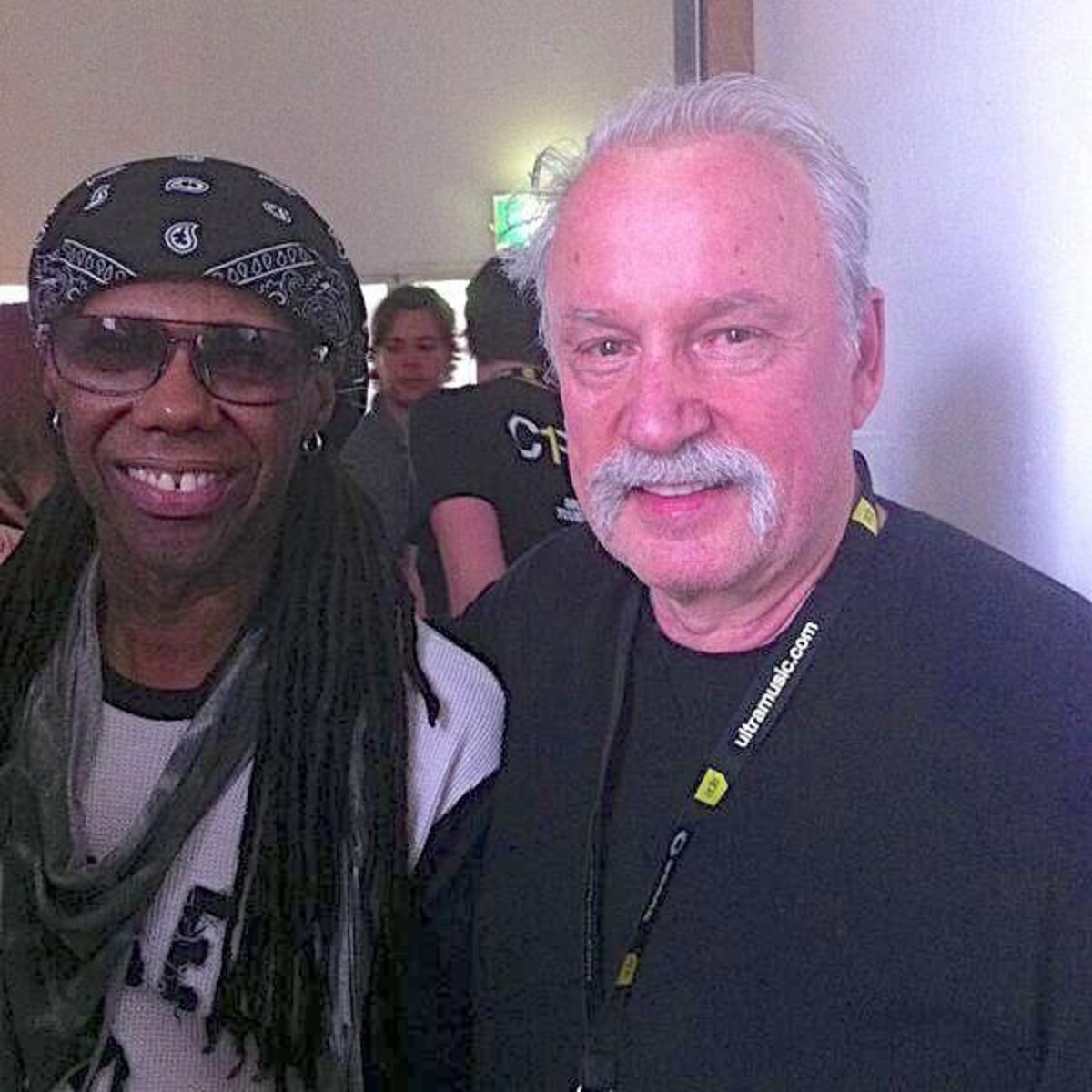 EDM News: Nile Rodgers Announces Collab With Giorgio Moroder On Twitter