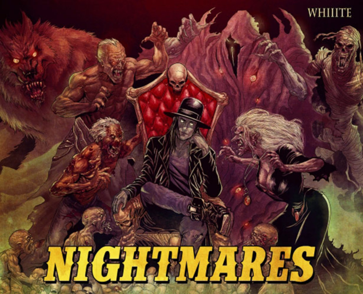 "Whiiite Releases ""Nightmares"" EP As A Free EDM Download - File Under Trap"