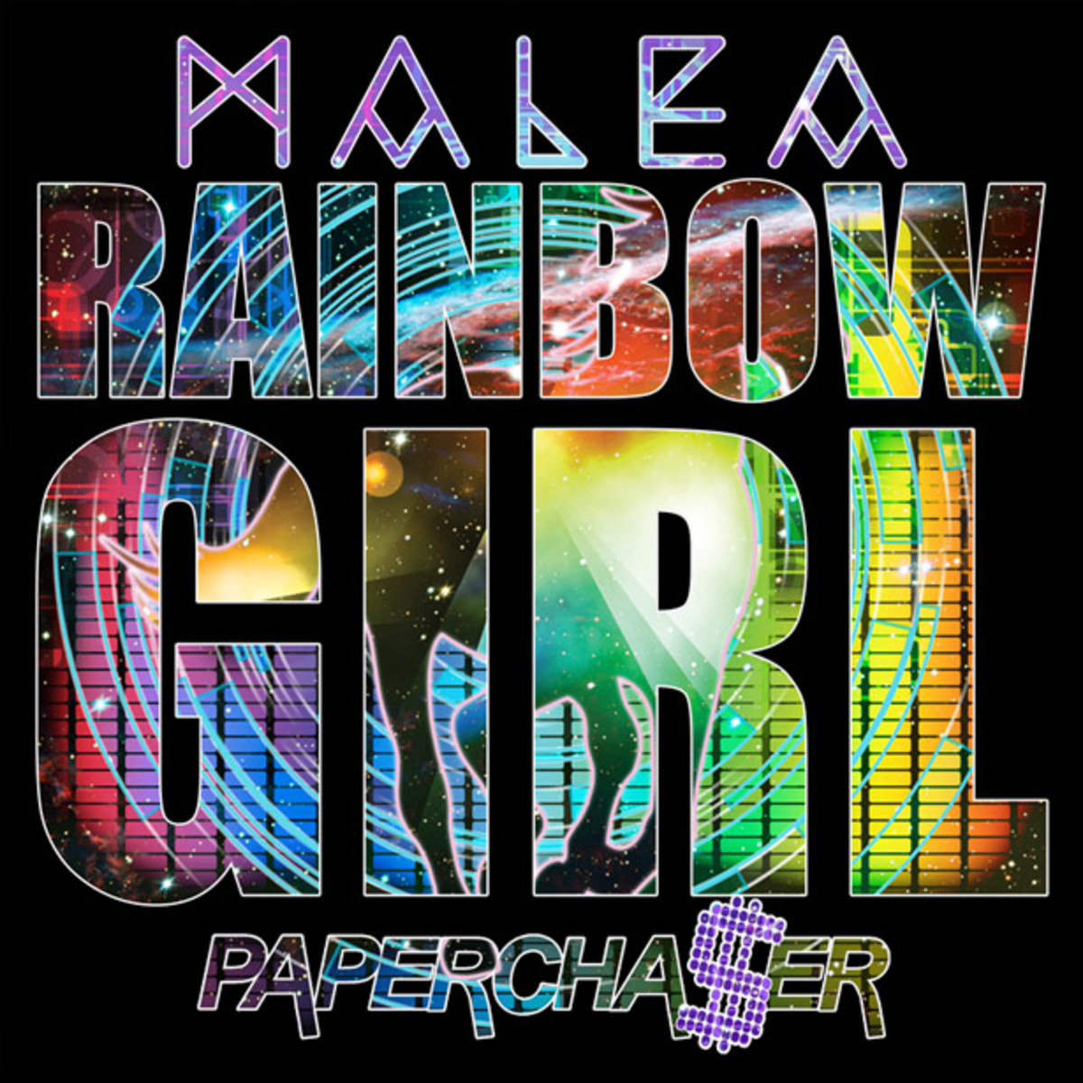 "Exclusive Premier: Malea ""Rainbow Girl"" (Papercha$er Remix) - New Electronic Music"