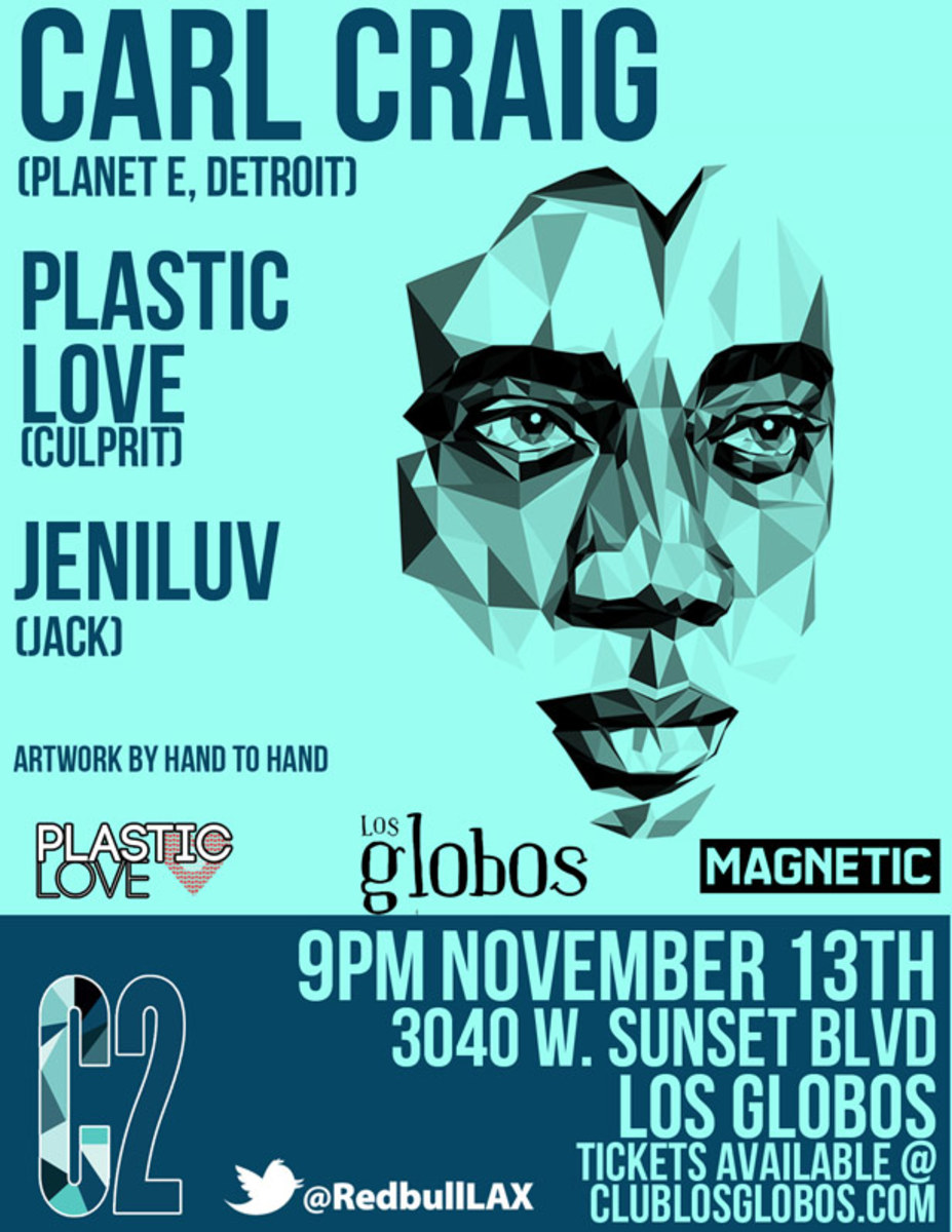 EDM Culture: Detroit Techno Legend Carl Craig To Play Special Wednesday Night Show At Los Globos