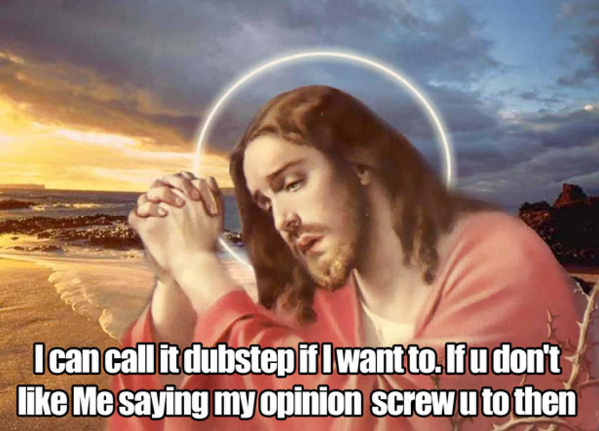 EDM Culture: 9 Memes Of Jesus Trolling Dubstep