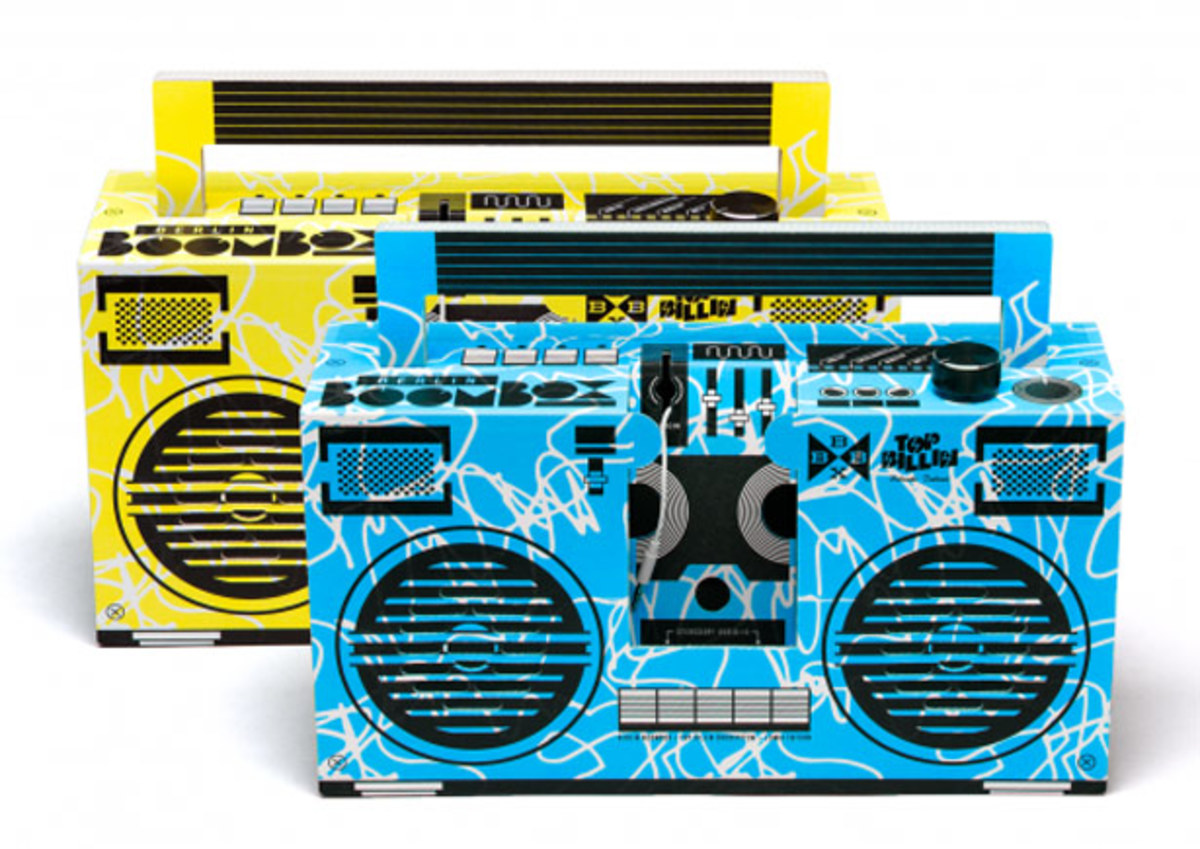 Top Billin' Announces Limited Edition Boombox And Free House Music Mixtape DL