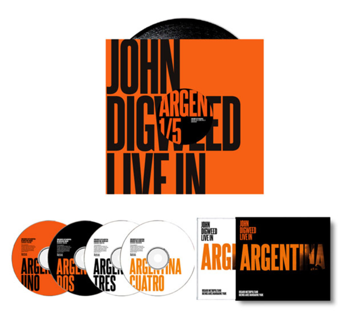 John Digweed Live in Argentina 4xCD/Bonus DVD - House Music