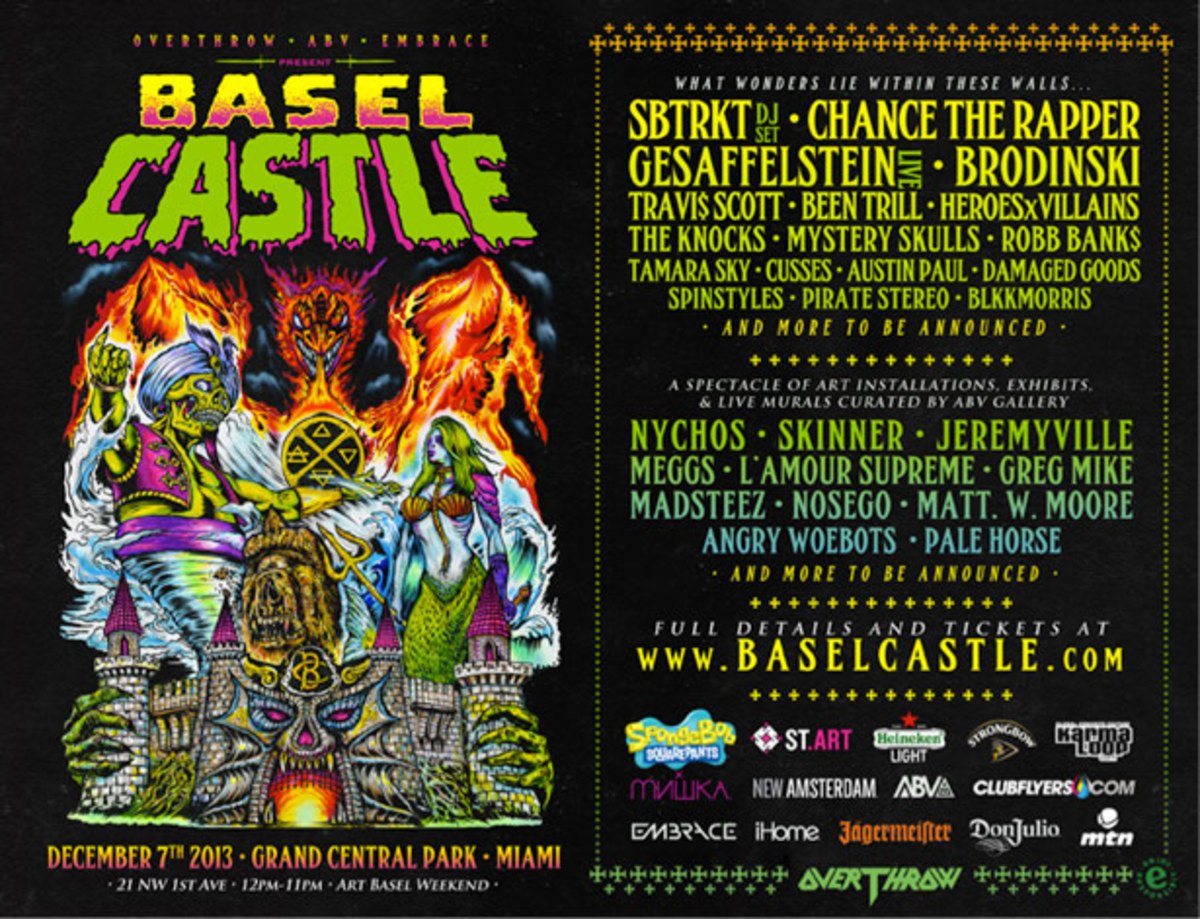 Basel Castle To Take Place December 7th At Grand Central Park In Miami - EDM News