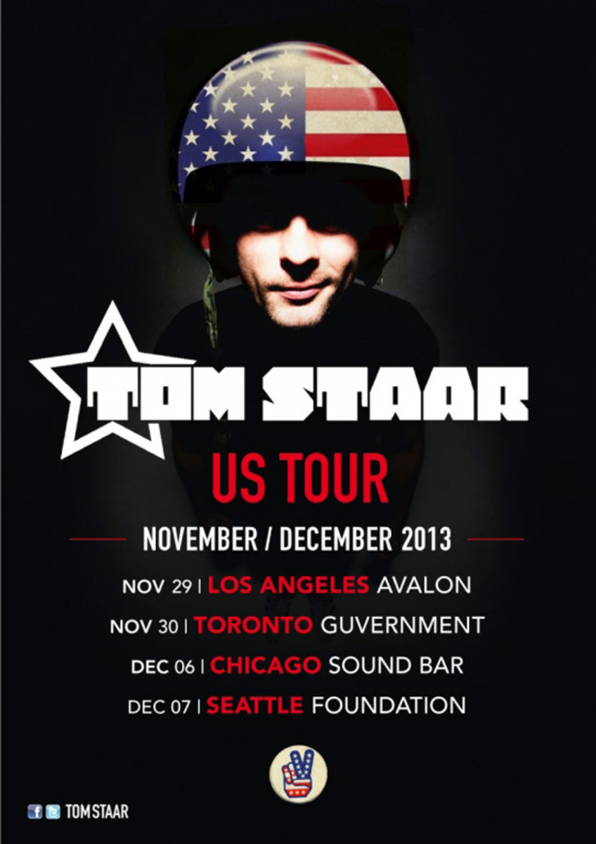 Tom Starr Announces North American Tour - EDM News