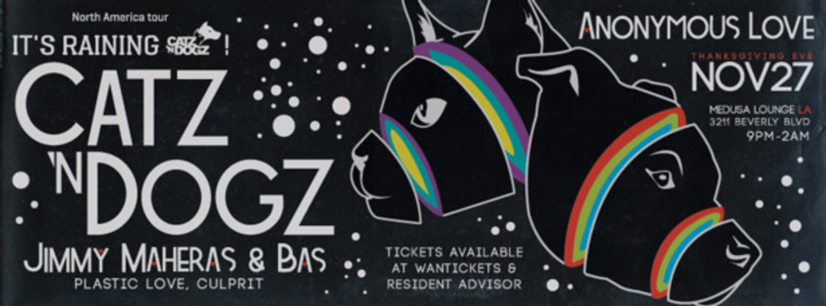 Catz n Dogz Plastic Love Party In Los Angeles At Medusa Lounge - EDM News