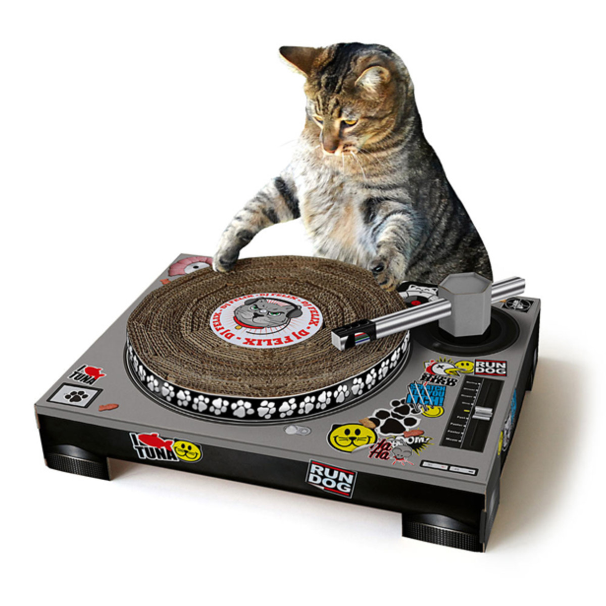 The DJ Cat Scratching Pad - EDM Culture