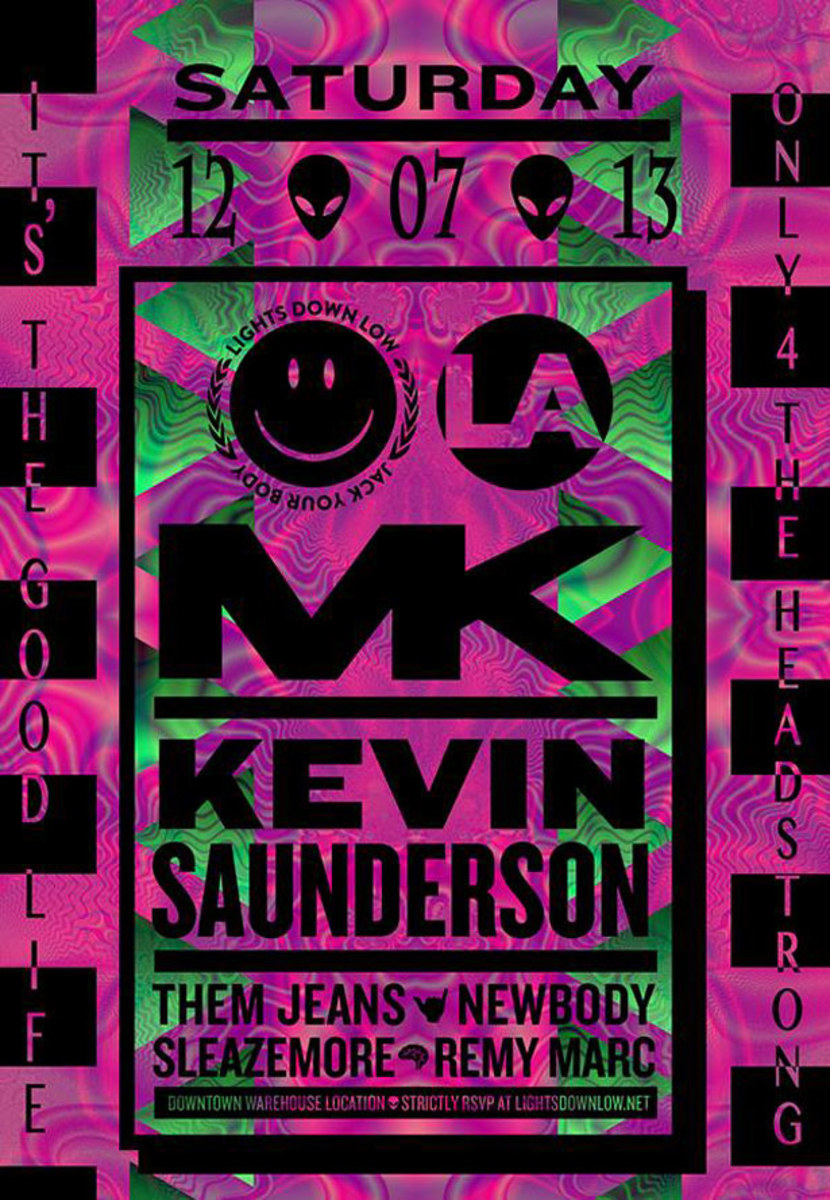 Los Angeles Events This Weekend With Garth, Kevin Saunderson, Droog, Mark E & More