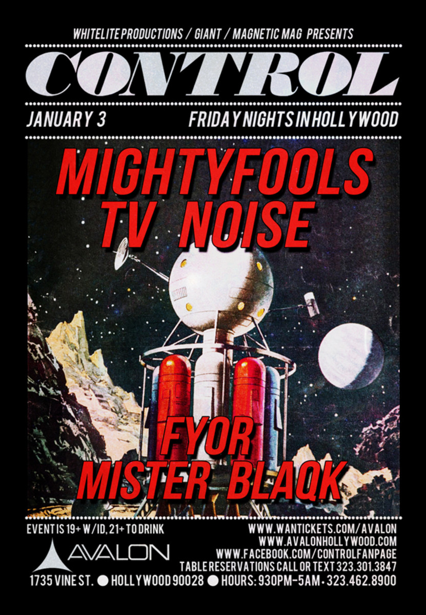 Mightyfools, TV Noise, Fyor & Mister Blaqk Kick Of The First Control Of 2014 - EDM News