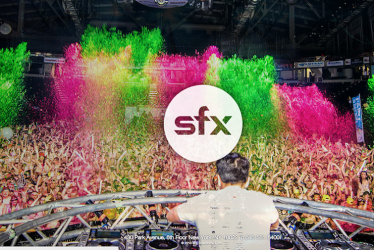 SFX & Clear Channel Form Marketing & Content Partnership - EDM News
