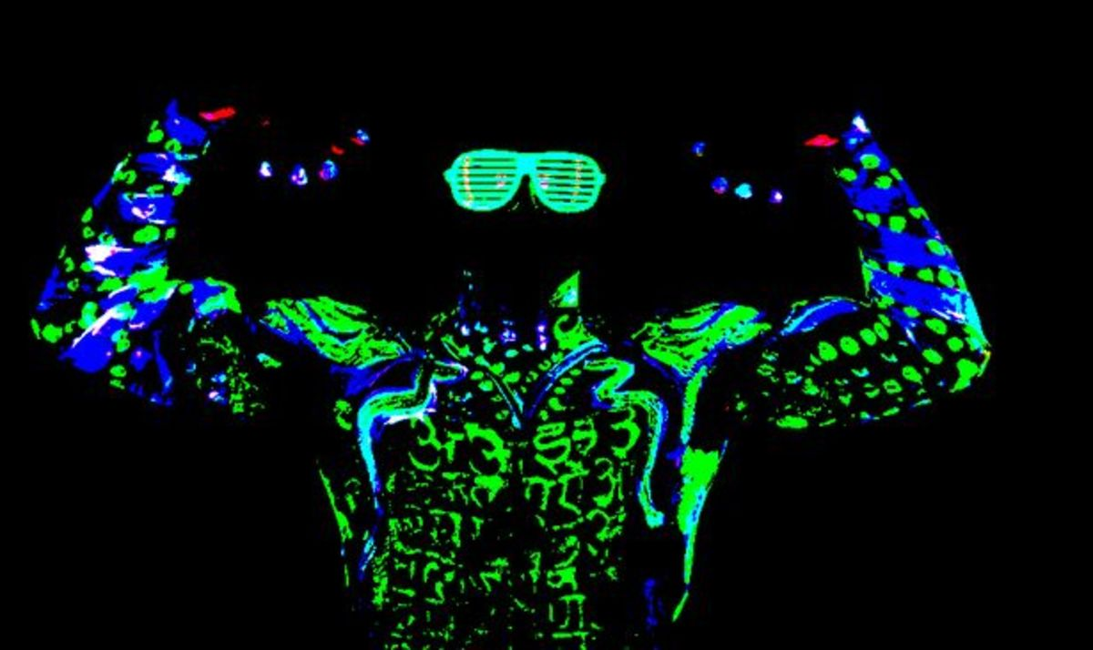 Will The Shirtless Neon Bros Of The Future Actually Glow In The Dark? - EDM Culture