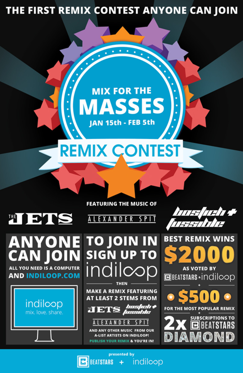 Indiloop & Beatstars Launch A Remix Contest So Easy Anyone Can Join - EDM News