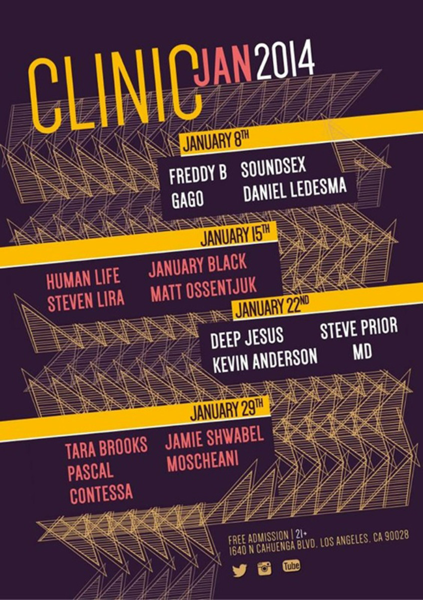 Clinic- A New Wednesday At Couture In Hollywood Focused On House Music