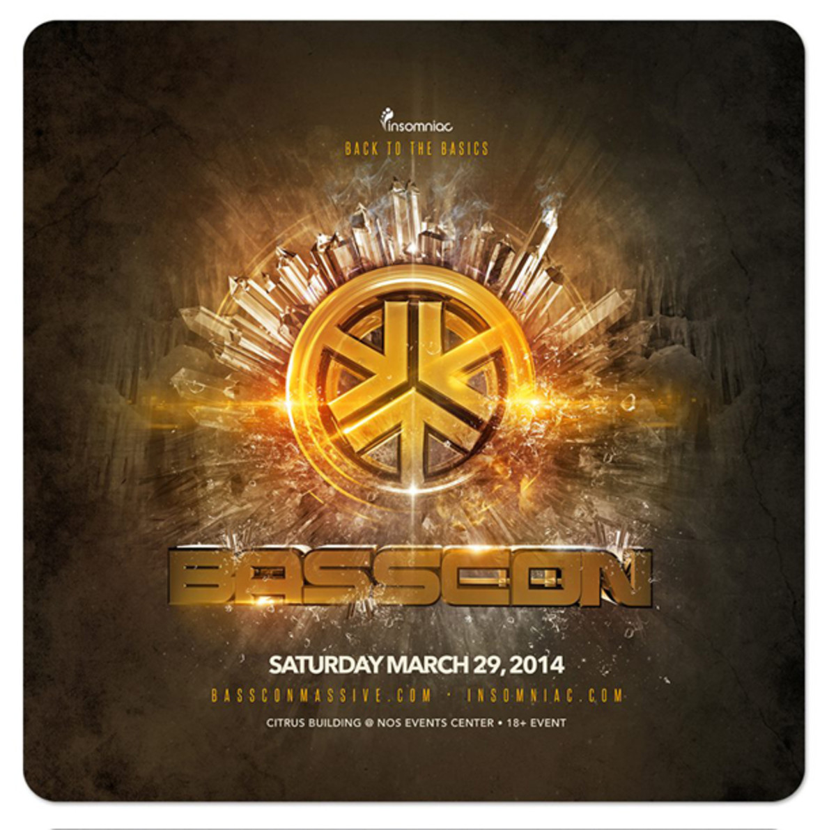 Insomniac Announces First Basscon Massive of 2014 To Take Place At NOS Events Center - EDM News
