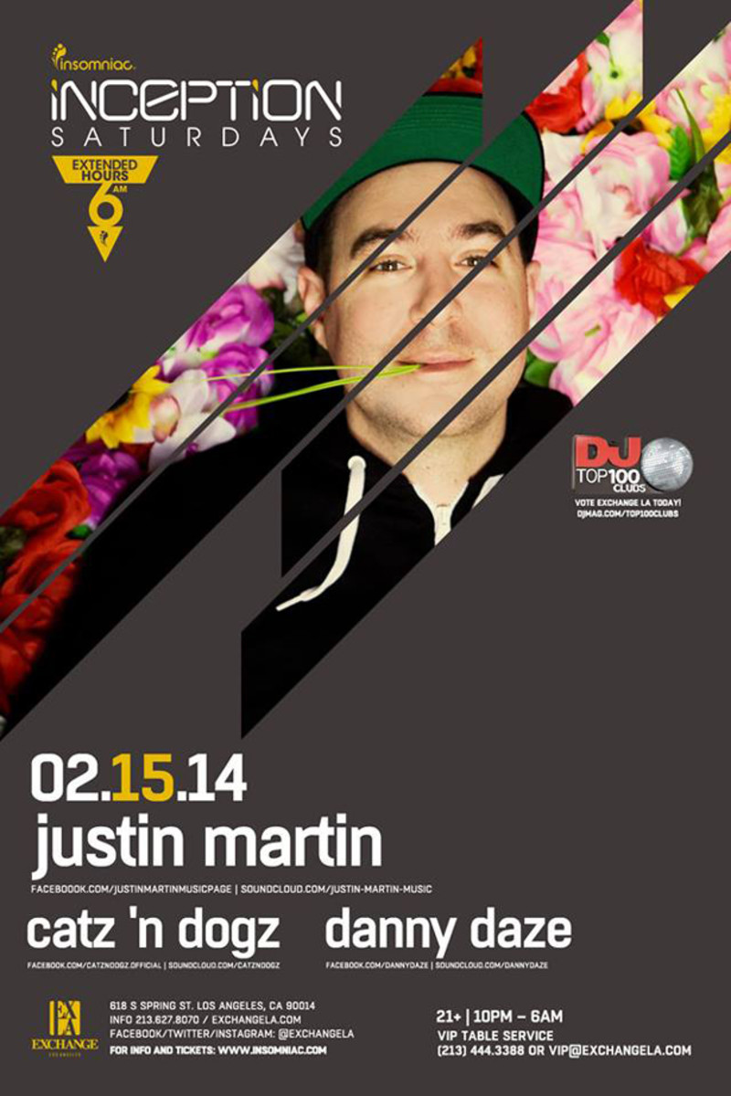Justin Martin Announces Bimonthly Residency At Exchange LA - EDM News
