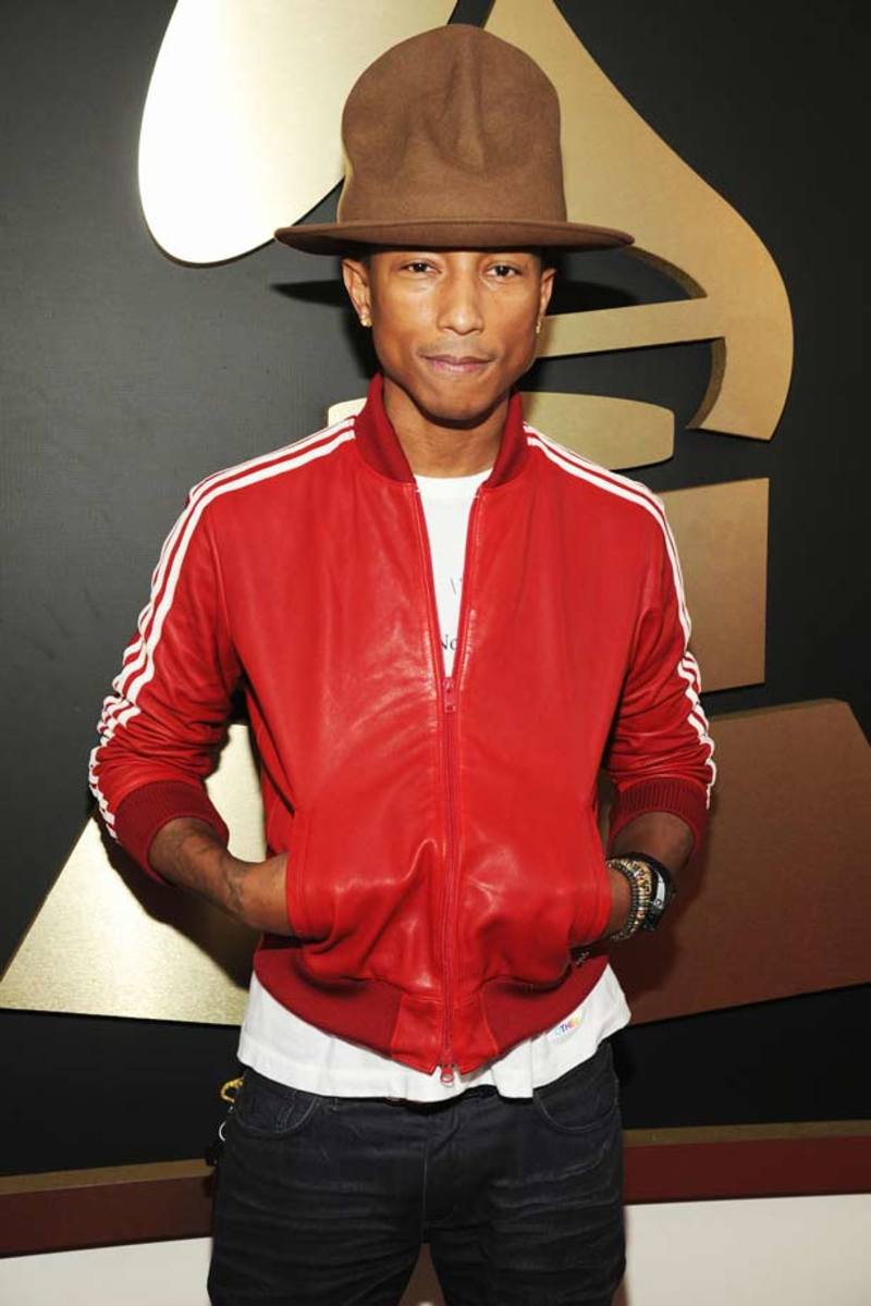 Pharrell's Hat Gets An Explanation And Its Own Twitter Account - EDM Culture