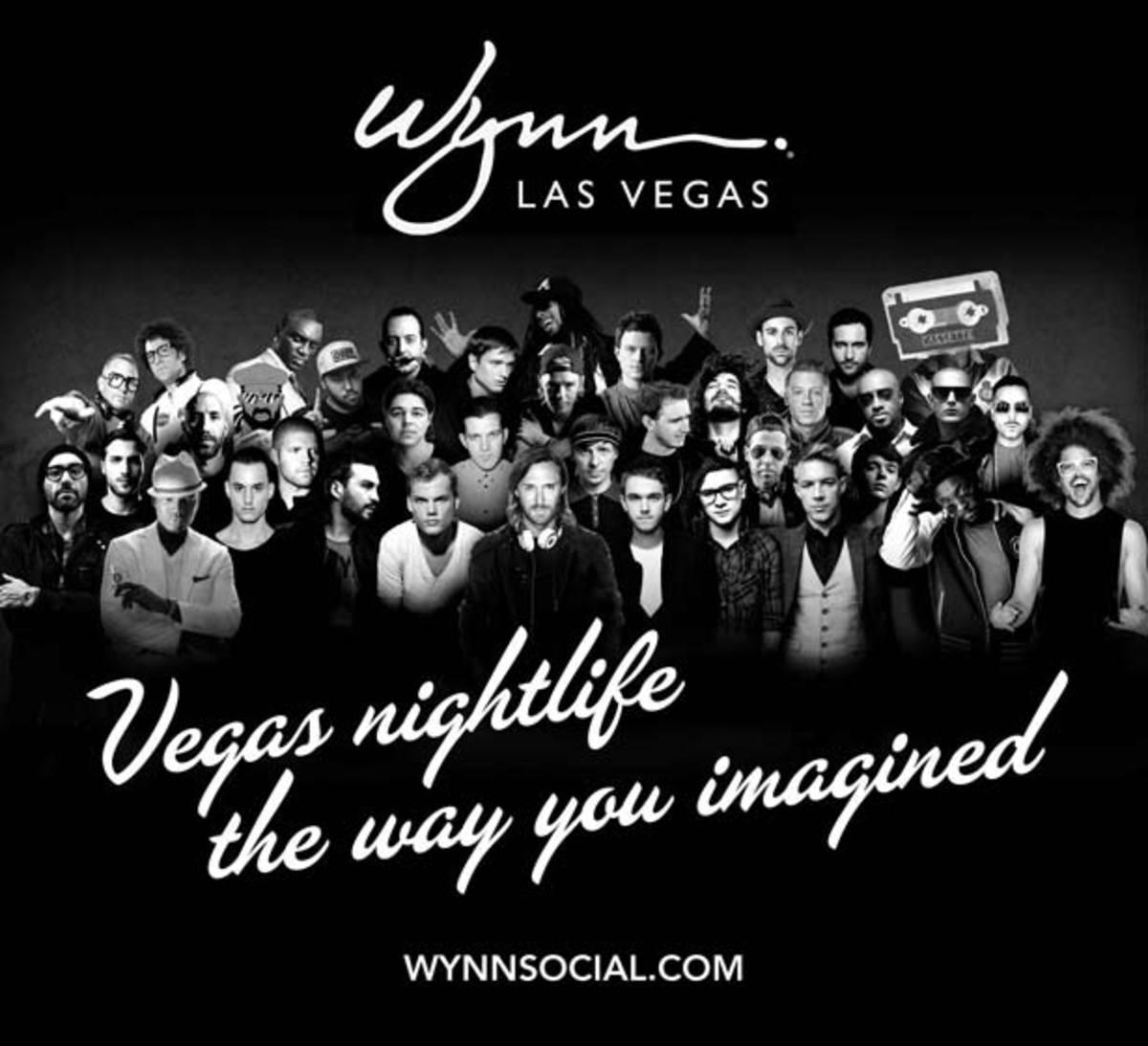 Las Vegas' Wynn Hotel And Casino Announces Epic 2014 DJ Residency List - EDM News