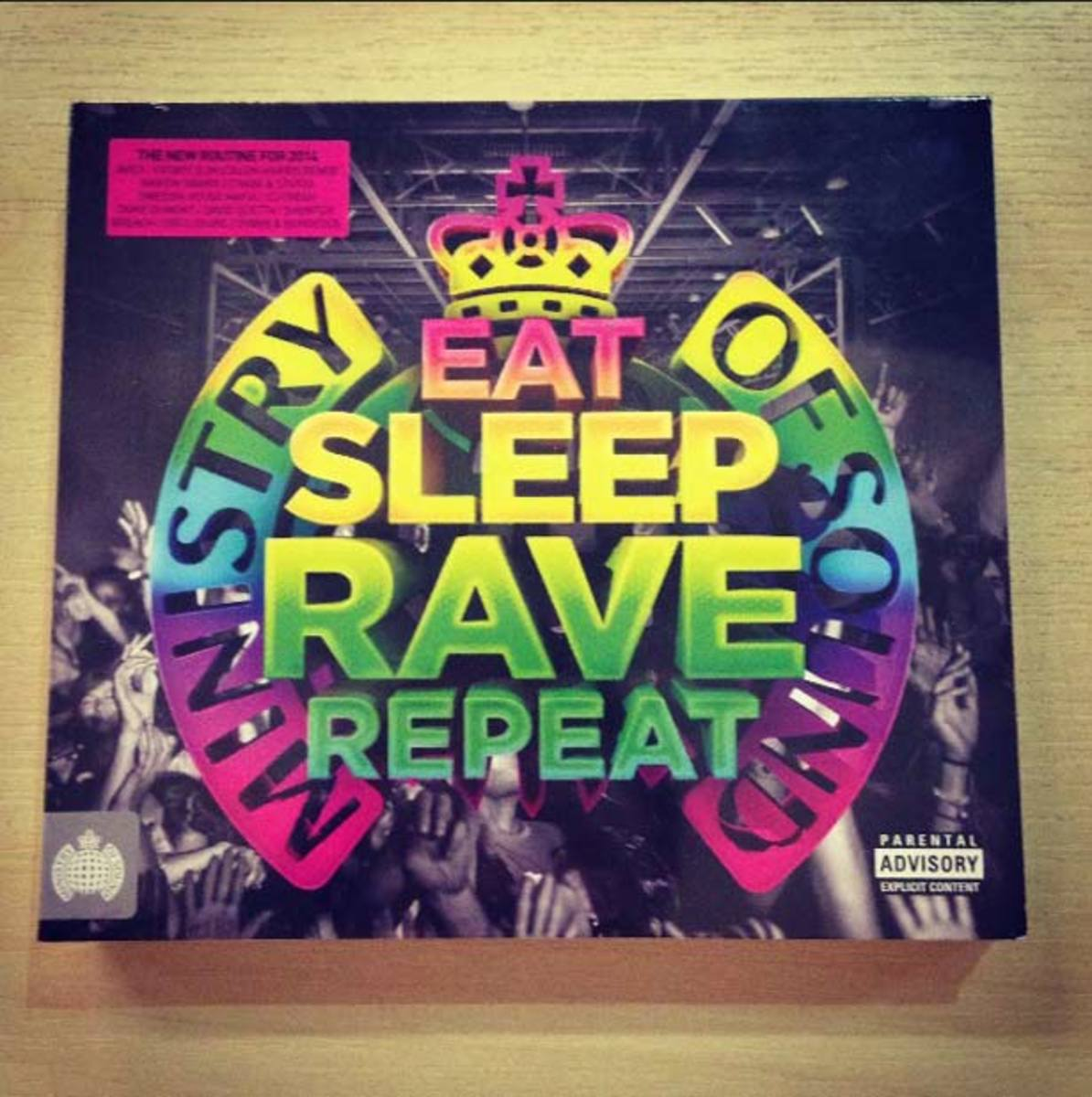 Win A Copy Of The Eat Sleep Rave Repeat Mix Compilation From Ministry Of Sound!