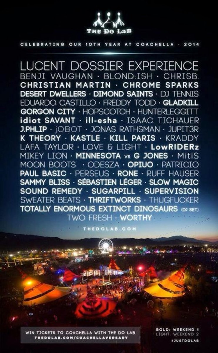 The Do Lab Announces Coachella Line-Up