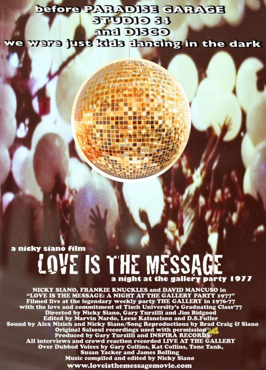 Nicky Siano Releases Trailer For Love Is The Message: A Night At The Gallery 1977
